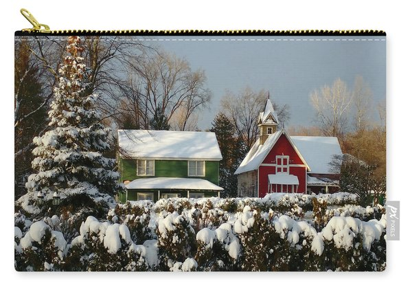 October Snow Carry-all Pouch