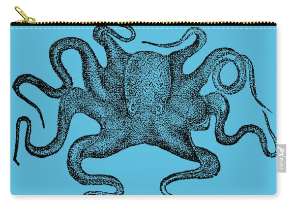 Octopus T-shirt Carry-all Pouch