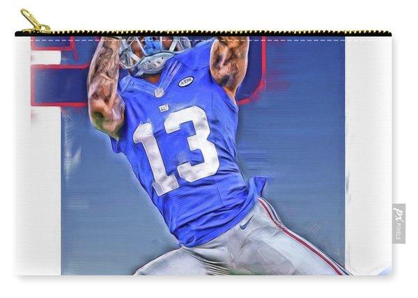 Odell Beckham Jr New York Giants Oil Art Carry-all Pouch