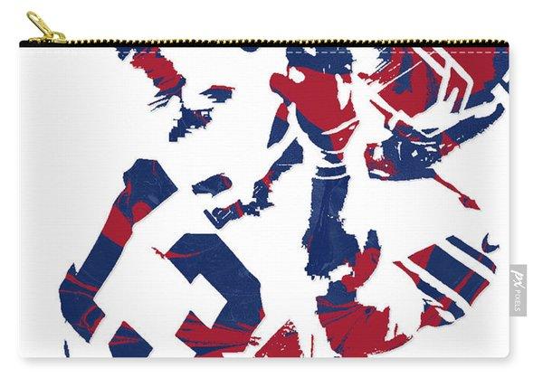 Odell Beckham Jr New York Giants Pixel Art 5 Carry-all Pouch