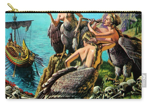 Odysseus And The Sirens Carry-all Pouch