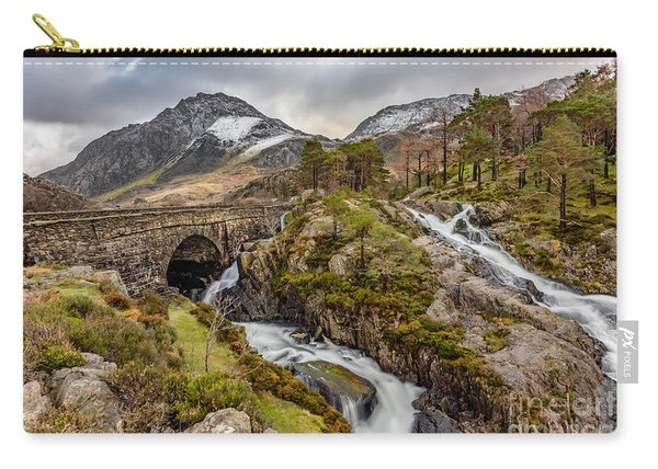 Ogwen Bridge Winter Carry-all Pouch
