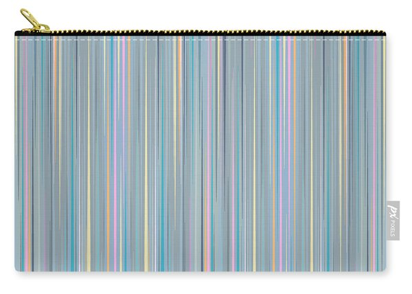 Oh Baby Blue - Stripes Carry-all Pouch