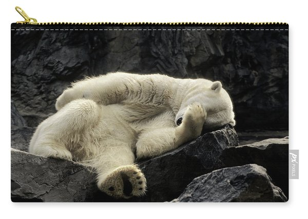 Oh What A Night Polar Bear Carry-all Pouch