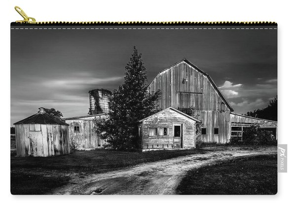 Ohio Barn At Sunrise Carry-all Pouch