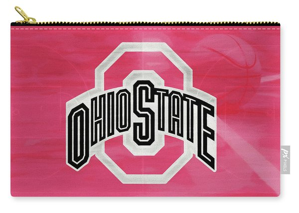 Ohio State Basketball Court Carry-all Pouch