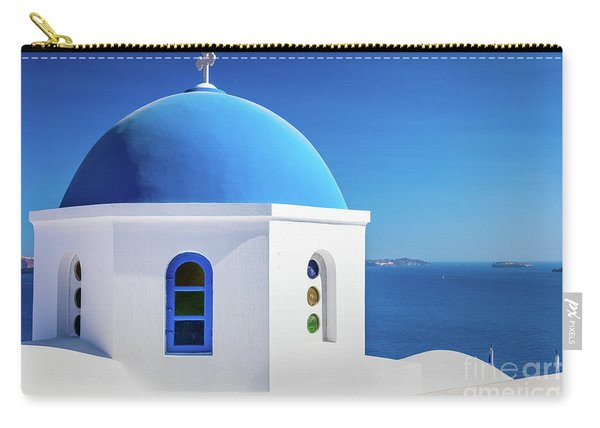 Oia Chapel Carry-all Pouch