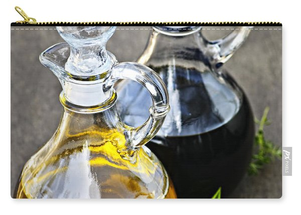 Oil And Vinegar Carry-all Pouch