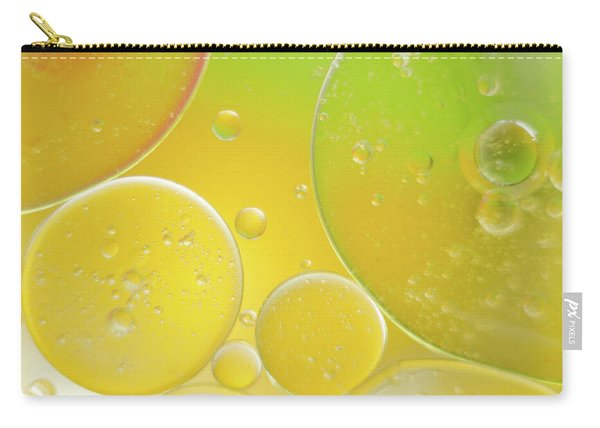Oil And Water Bubbles  Carry-all Pouch
