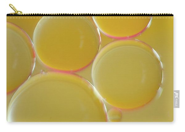 Oil Bubbles On Water Abstract Carry-all Pouch
