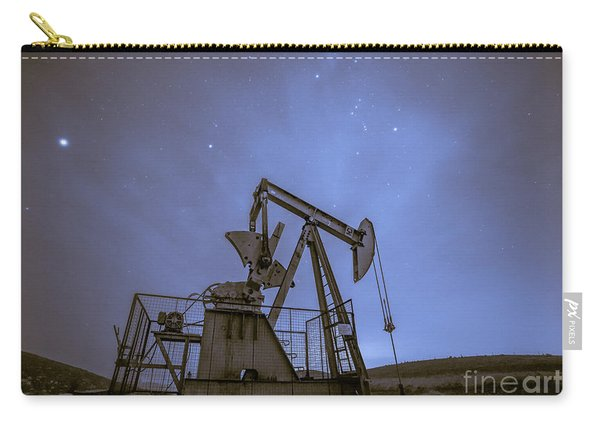 Oil Rig And Stars Carry-all Pouch