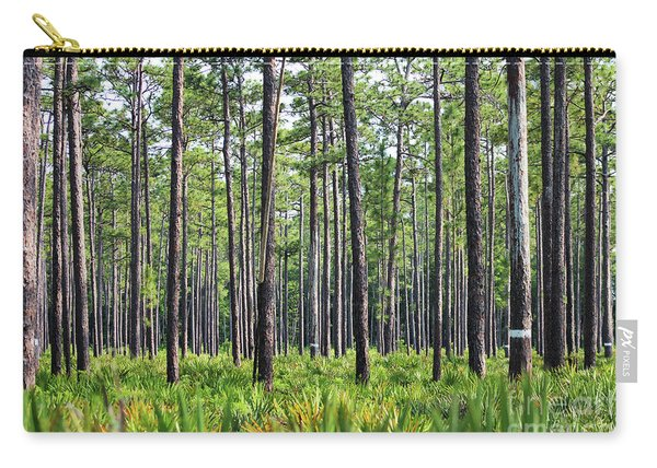 Okefenokee Uplands With A Nest Cavity Tree Carry-all Pouch