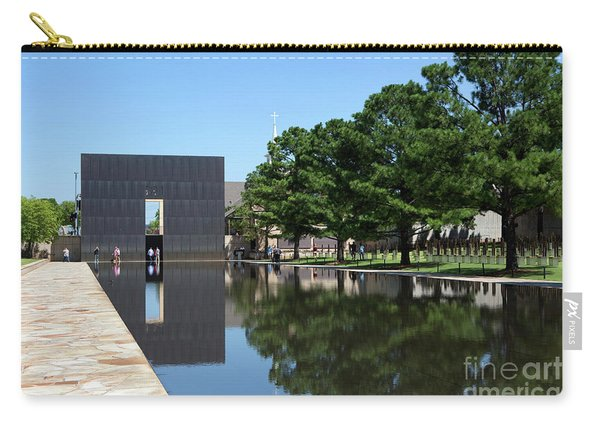Oklahoma City National Memorial Bombing Carry-all Pouch
