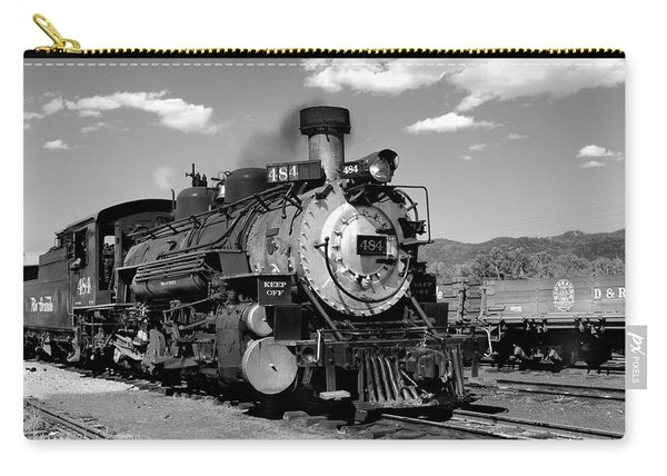 Carry-all Pouch featuring the photograph Old 484 I by Ron Cline