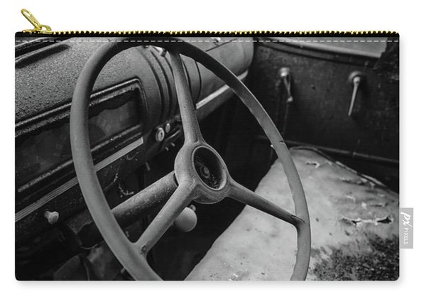 Old Abandoned Truck Interior Carry-all Pouch
