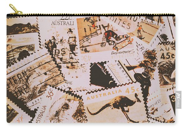 Old Australia In Stamps Carry-all Pouch