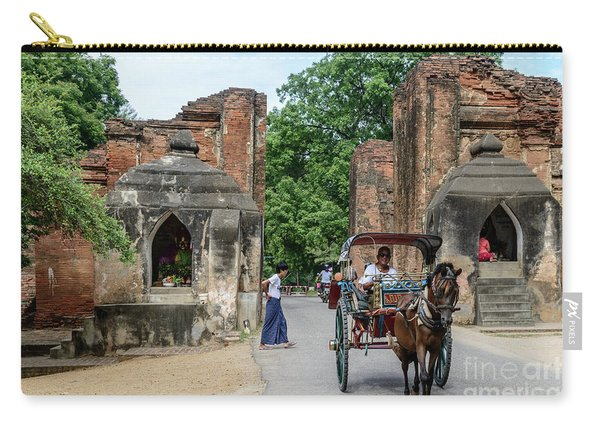 Old Bagan Carry-all Pouch