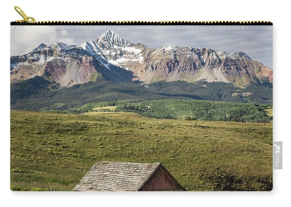 Old Barn And Wilson Peak Vertical Carry-all Pouch