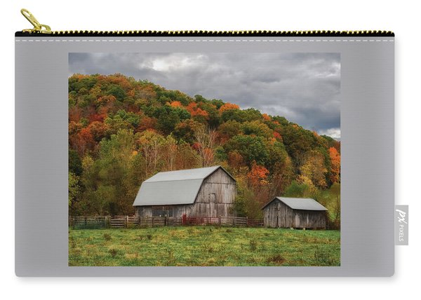 Old Barns Of Beauty In Ohio  Carry-all Pouch