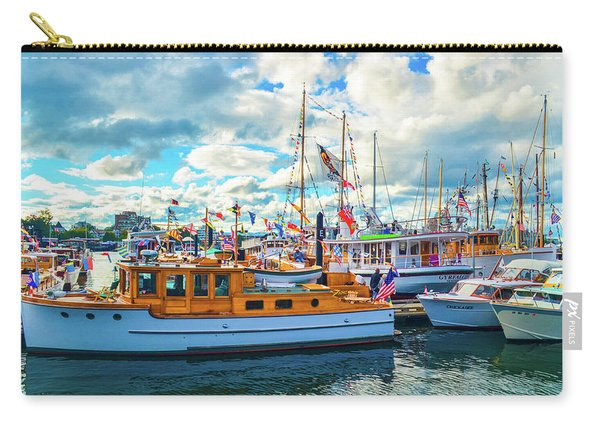 Old Boats Carry-all Pouch