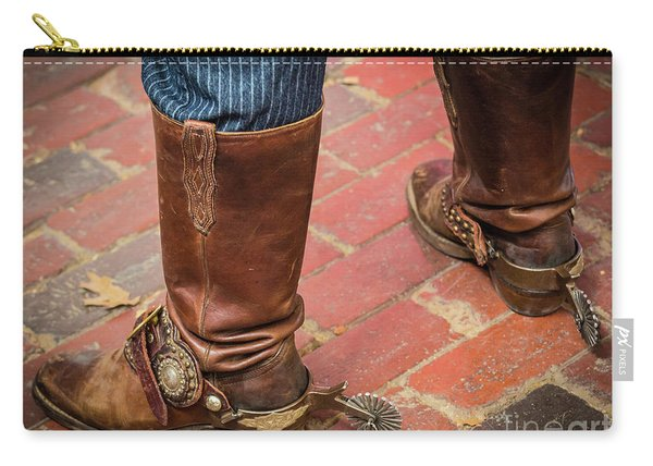 Old Boots Carry-all Pouch