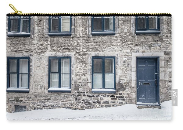 Old Building In Quebec City Carry-all Pouch