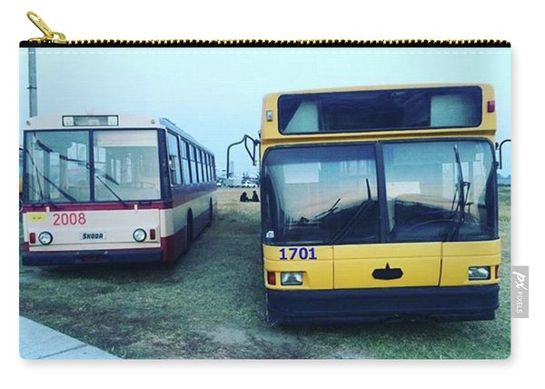 #old #bus #museum #oldcarfest2016 Carry-all Pouch