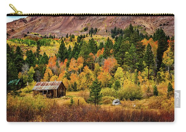 Old Cabin In Hope Valley Carry-all Pouch