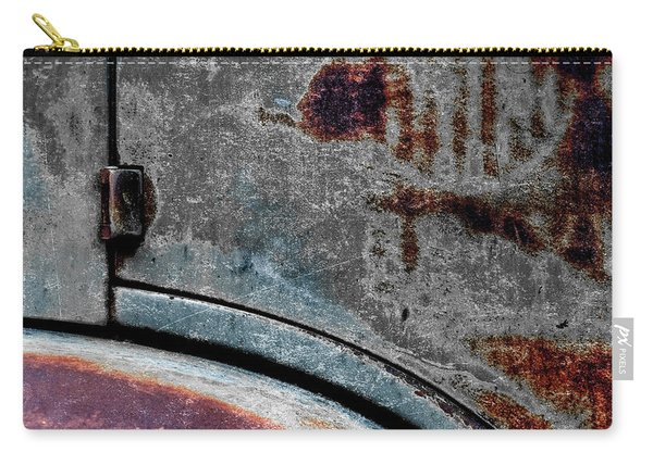 Old Car Weathered Paint Carry-all Pouch
