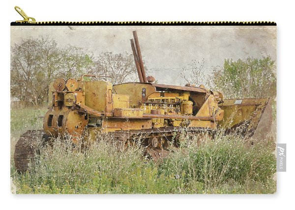 Old Cat Watercolor II Carry-all Pouch