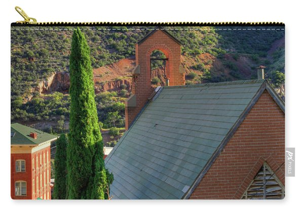 Old Church In Bisbee Carry-all Pouch