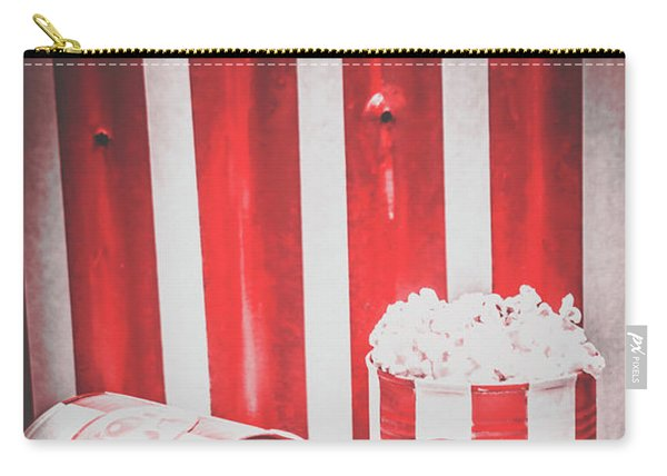 Old Cinema Pop Corn Carry-all Pouch
