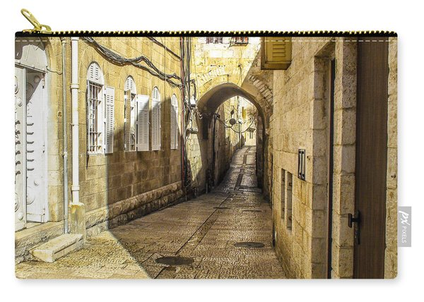 Shabbat Day Of Rest Jerusalem Israel Carry-all Pouch