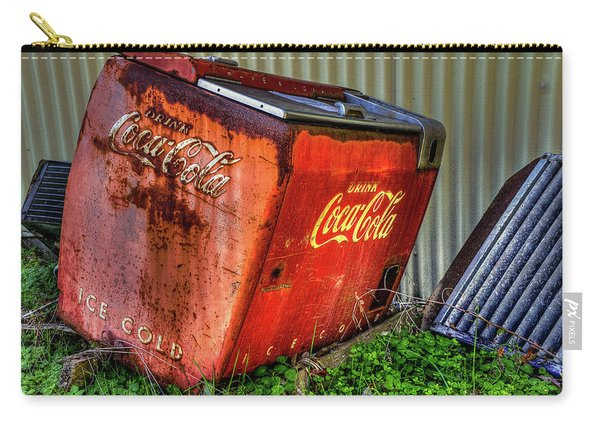 Old Coke Box Carry-all Pouch