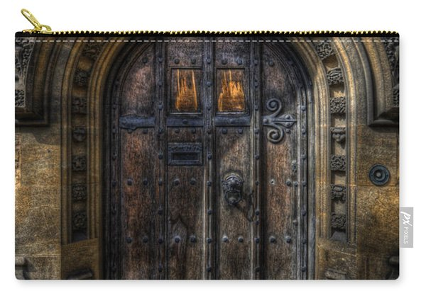 Old College Door - Oxford Carry-all Pouch
