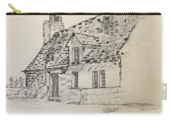 Old Cottage Carry-all Pouch