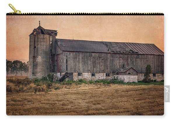 Carry-all Pouch featuring the photograph Old Country Barn by Garvin Hunter
