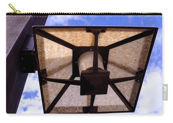 Old Dirty Light Fixture In Orlando Florida Carry-all Pouch