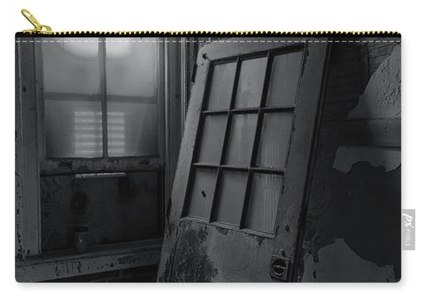 Carry-all Pouch featuring the photograph Old Door by Tom Singleton
