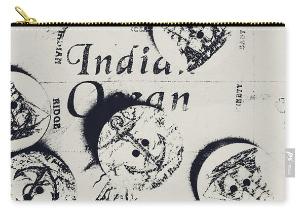 Old East India Trading Routes Carry-all Pouch