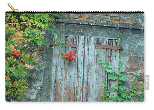 Old Farm Door Carry-all Pouch