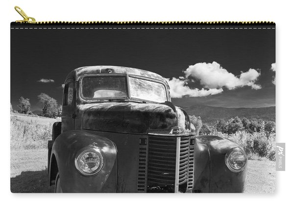Old Farm Truck Infrared Carry-all Pouch