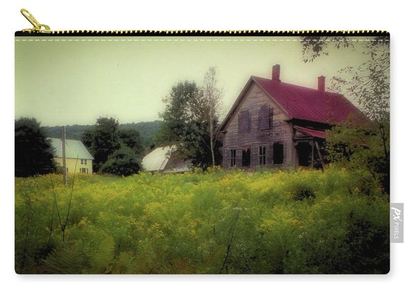 Old Farmhouse - Woodstock, Vermont Carry-all Pouch