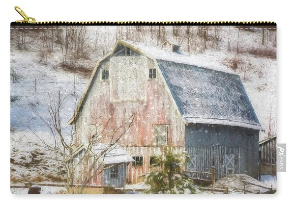 Old Fashioned Values - Country Art Carry-all Pouch