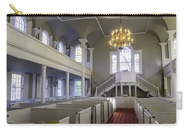 Old First Church Interior Carry-all Pouch