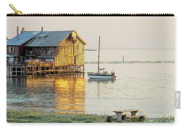 Old Fishermans Shack In Norway Carry-all Pouch