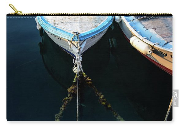 Old Fishing Boats Of The Adriatic Carry-all Pouch