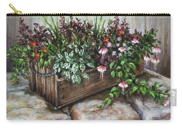 Old Flower Box Carry-all Pouch