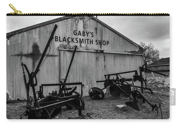 Old Frisco Blacksmith Shop Carry-all Pouch