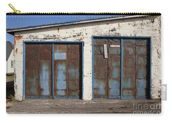 Old Garage Doors Iceland Carry-all Pouch